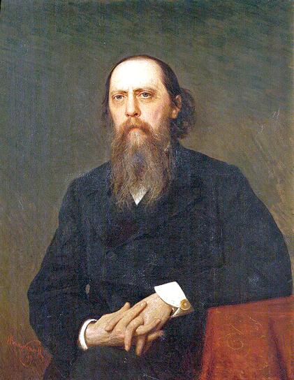 'М.Е.Салтыков-Щедрин'. Работа Ивана Крамского. 1879 год / Wikimedia