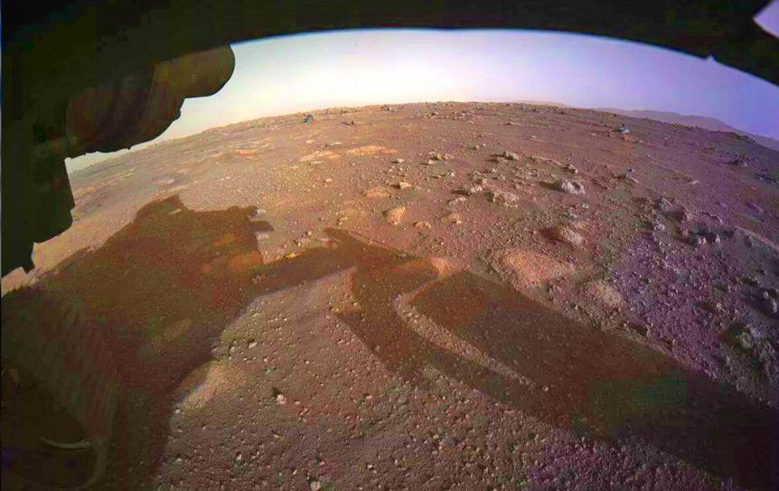 Американский планетоход Perseverance показал цветные фото с Марса / NASA / Perseverance Mars Rover