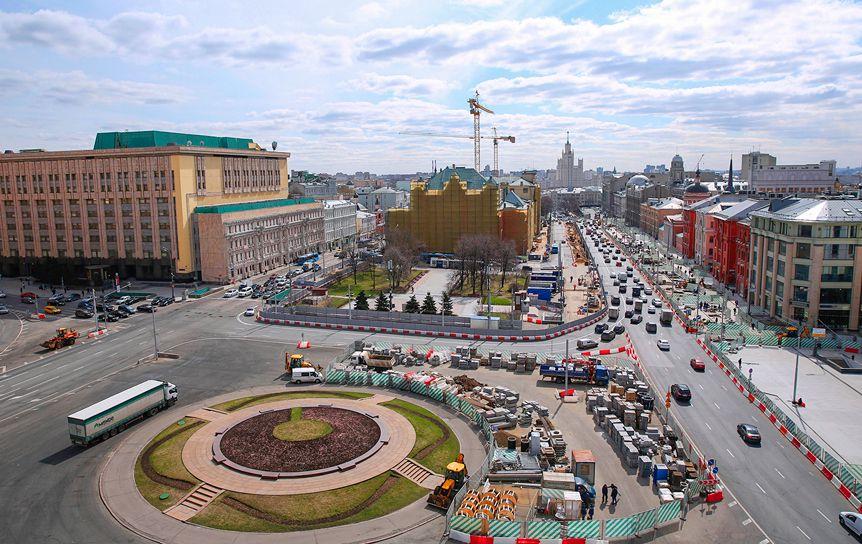 Лубянская площадь. Москва / mos.ru