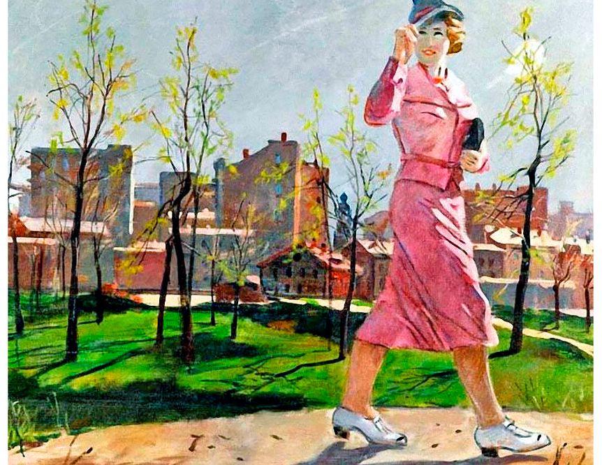 А. Дейнека 'Весна', 1952 / ТГТ