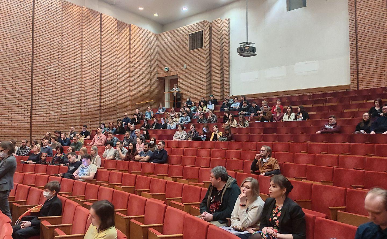Открытие ХХ Международного Форума молодых писателей. Фото: Андрей Мягков
