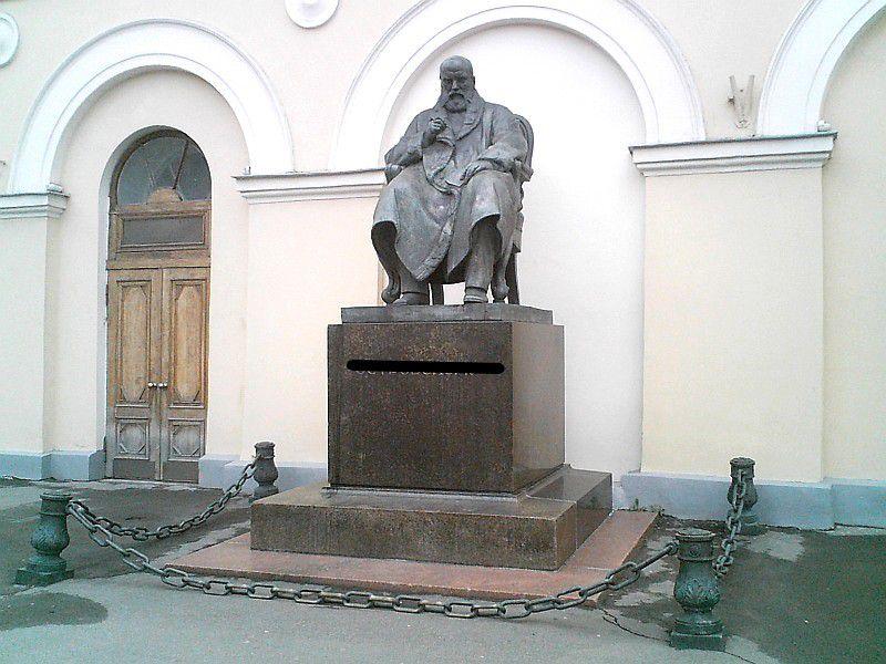 Памятник нашему сегодняшнему герою, установленный в самом центре Москвы / ru.wikipedia.org