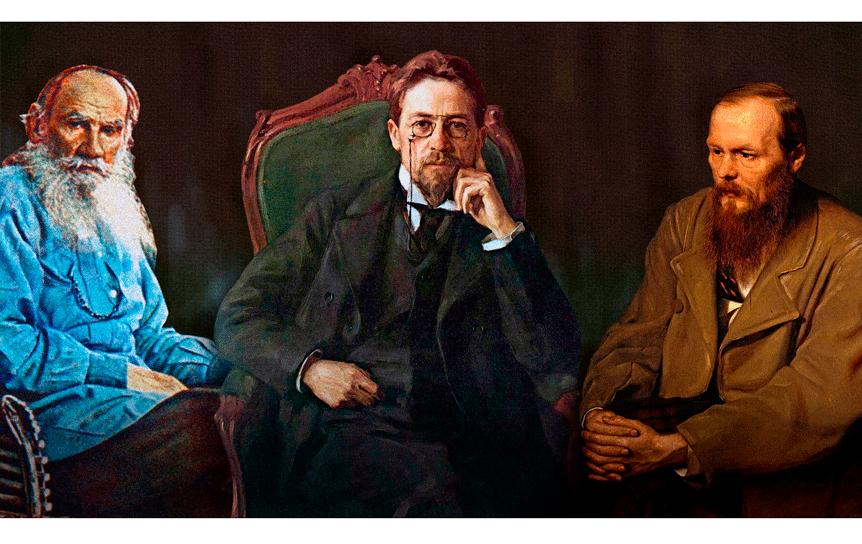 Сколько бы сегодня зарабатывали Пушкин, Толстой и Чехов / Wikimedia