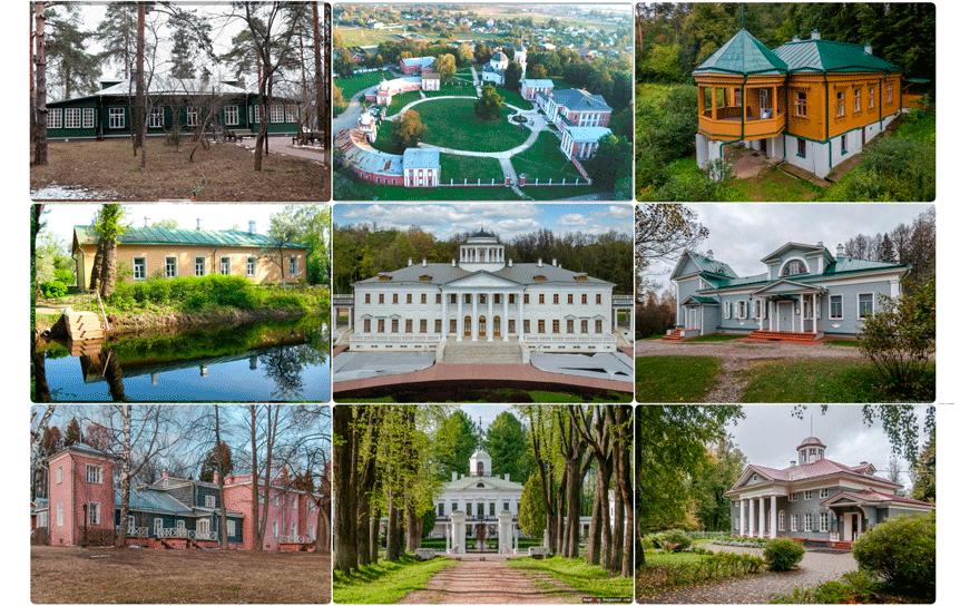10 литературных мест Подмосковья / godliteratury.ru