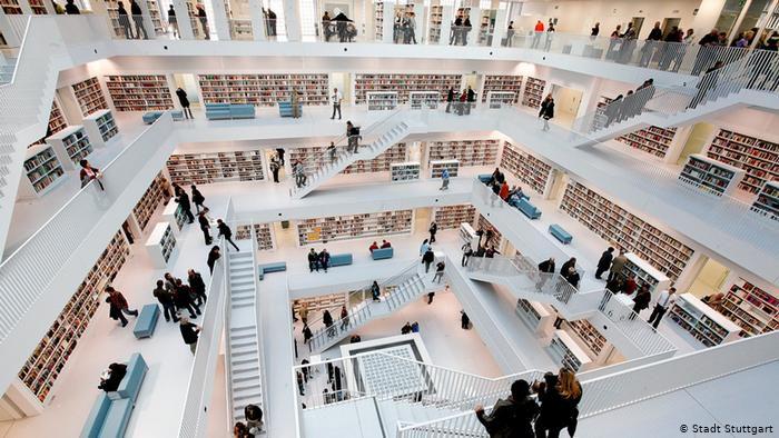 Городской библиотеки Штутгарта / dw.com