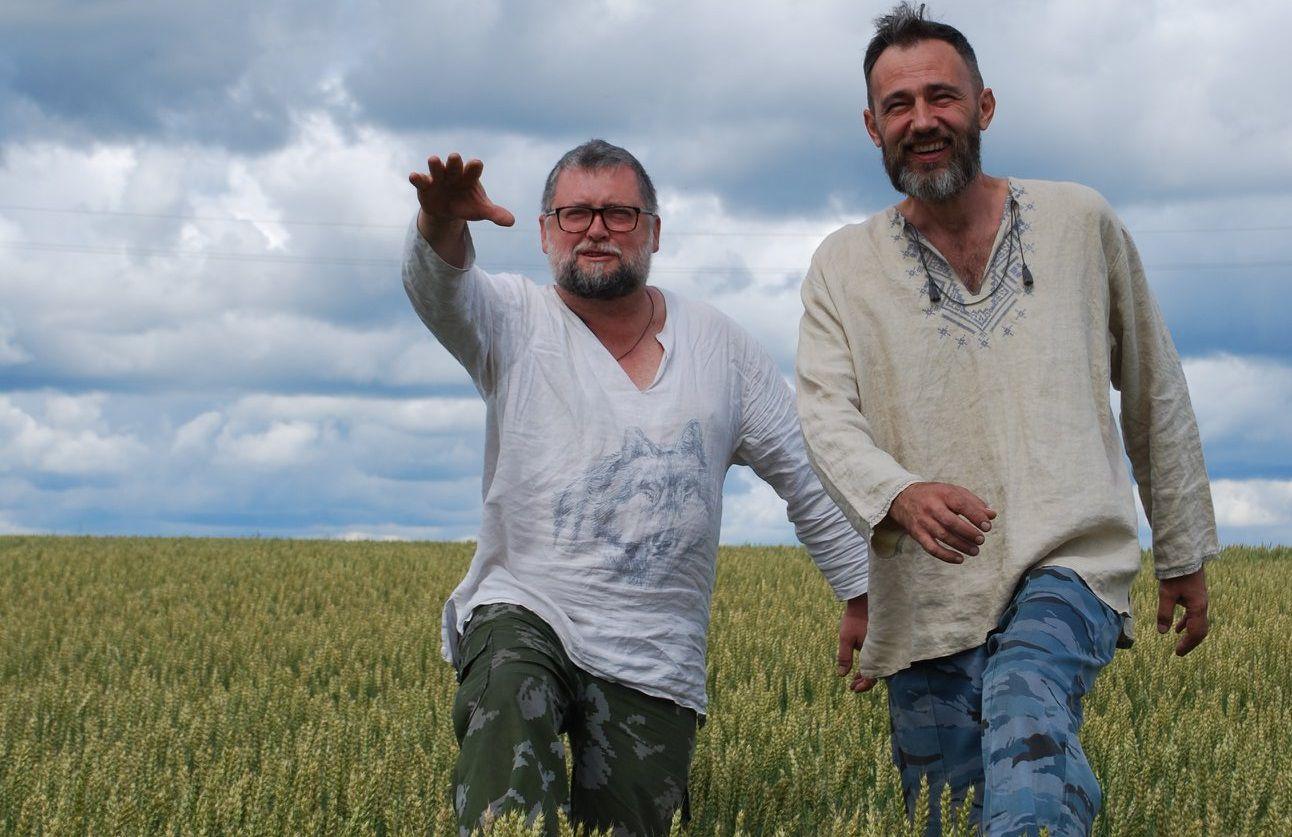 Даниэль Орлов (слева) с Ильей Кочергиным / фото из фейсбука Даниэля Орлова