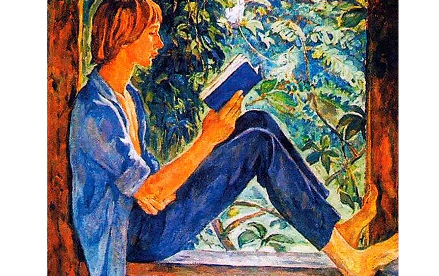 Список книг на лето. Для тех, кто идёт в 9 класс. И.В. Шевандронова 'На террасе' / Wikimedia