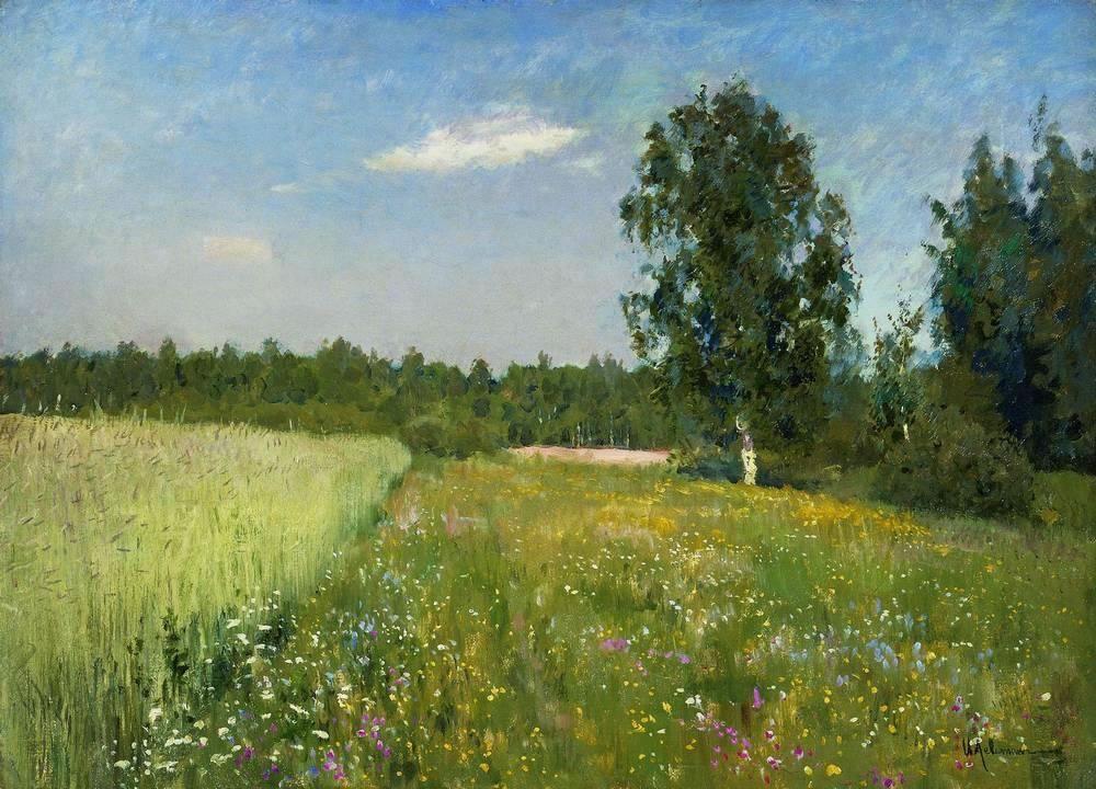 Исаак Ильич Левитан. «Июньский день (Лето)». 1890-е.  / wikimedia