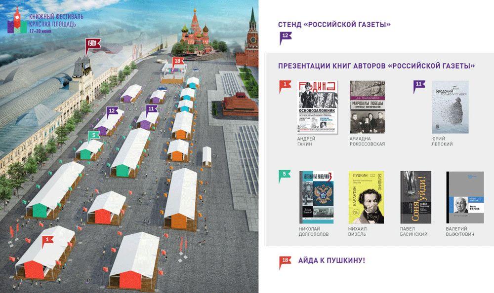'Российская газета' приглашает на книжный фестиваль 'Красная площадь'