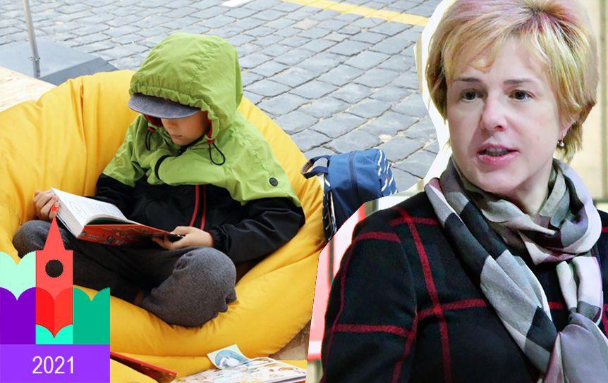Российская государственная детская библиотека - традиционный куратор программы 'Детская и учебная литература'. Интервью с Мариной Веденяпиной, директором РГДБ