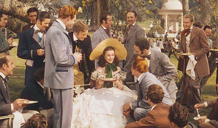 Кадр из фильма «Унесенные ветром»