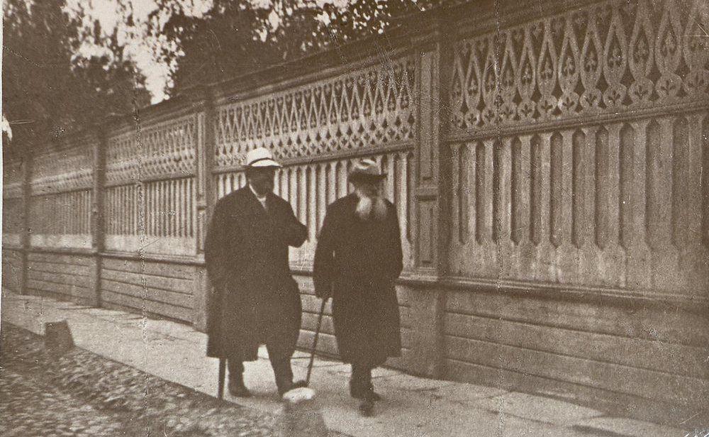Л.Н.Толстой и В.Г.Чертков, 1909 год / Фото предоставлено пресс-службой музея