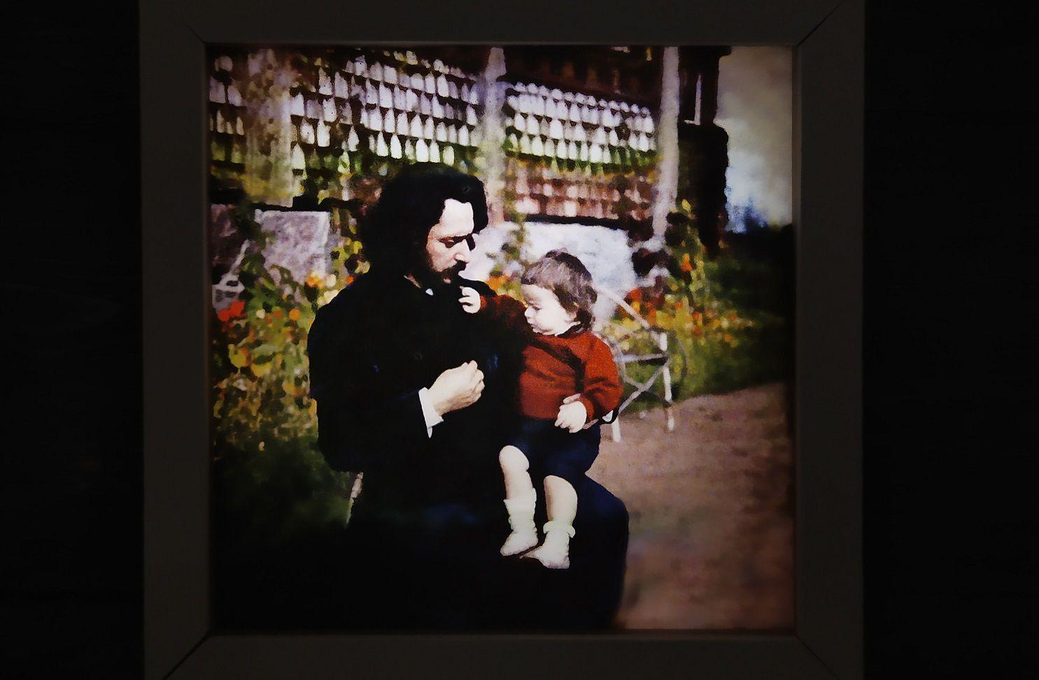 Фрагмент выставки «Леонид Андреев. Жизнь человека» / Фото: Елизавета Портная