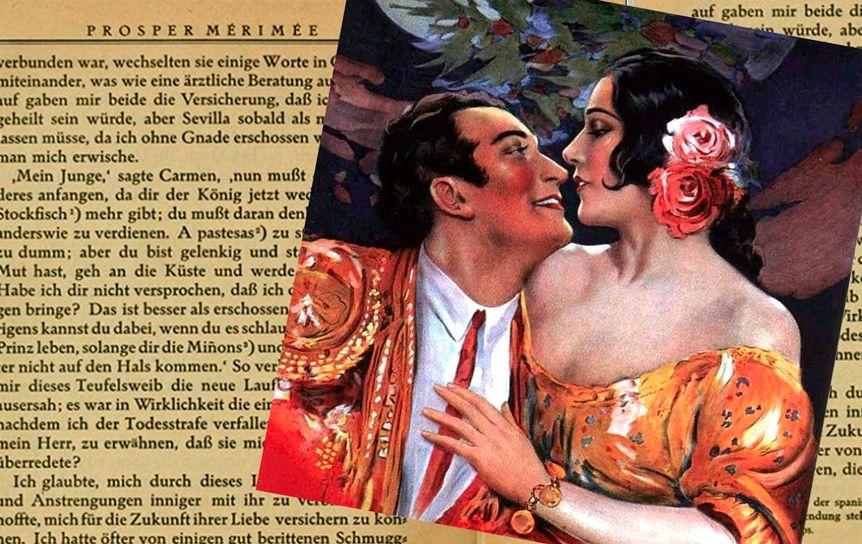 Свою самую популярную новеллу «Кармен» Проспер Мериме написал под впечатлением от поэмы Пушкина «Цыганы»
