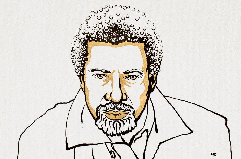 Лауреатом Нобелевской премии по литературе 2021 года стал танзанийский писатель Абдулразак Гурна / Ill. Niklas Elmehed © Nobel Prize Outreach.